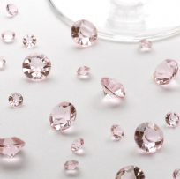 Baby Pink Table Crystals (100g)